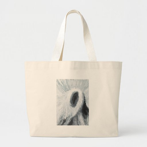 Cyclops Rock (abstract surrealism) Tote Bags