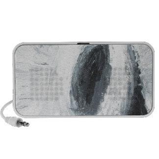 Cyclops Rock (abstract surrealism) Notebook Speaker