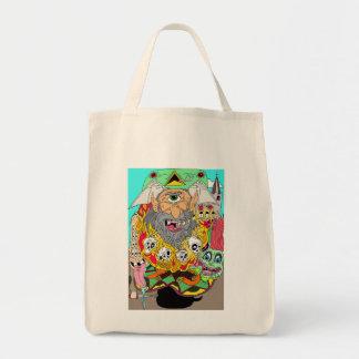 Cyclops Shop til you Drop Tote Bags