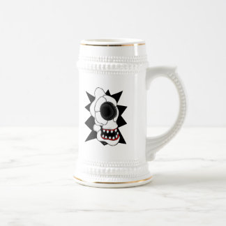 CYCLOPS SKULL 2 18 OZ BEER STEIN