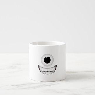 Cyclops Smile 6 Oz Ceramic Espresso Cup