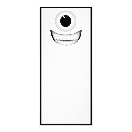 Cyclops Smile Rack Cards