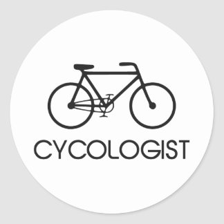 Cycologist Cycling Cycle Classic Round Sticker