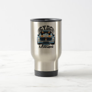 CYDC Motorsports Classic Stainless Steel Travel Mug