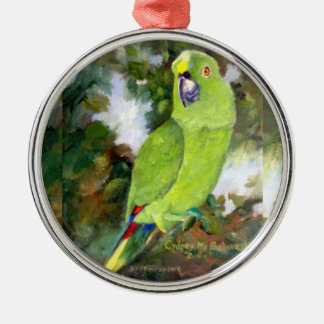 Cydney Yellow Naped Parrot Christmas Ornament