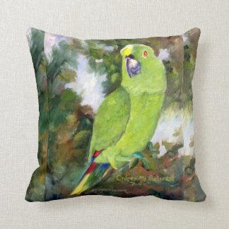 Cydney Yellow Naped Parrot Cushion