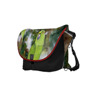 Cydney Yellow Naped Parrot Messenger Bag
