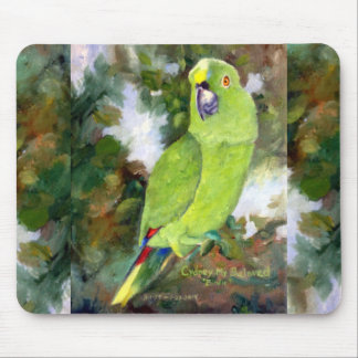 Cydney Yellow Naped Parrot Mouse Mat