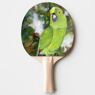 Cydney Yellow Naped Parrot Ping Pong Paddle