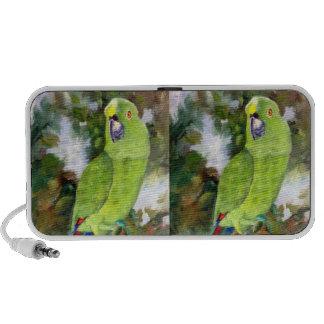 Cydney Yellow Naped Parrot iPhone Speaker