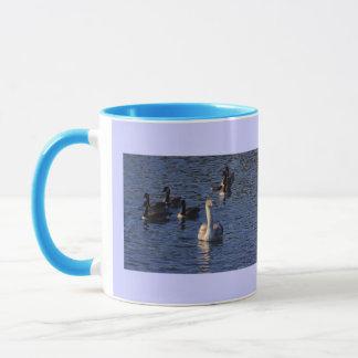 Cygnet and Geese Mug
