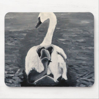 cygnet swan mouse pad