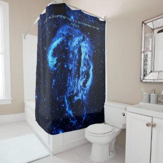 Cygnus Loop Nebula showering in strarlight Shower Curtain