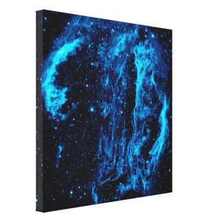 Cygnus Loop Nebula Stretched Canvas Prints