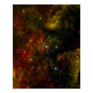 Cygnus OB2 Star Cluster Perfect Poster