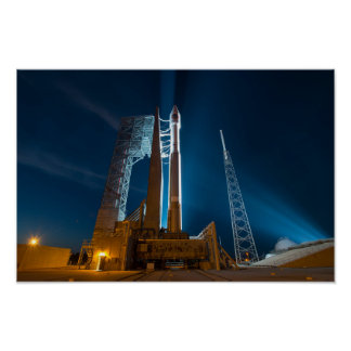 Cygnus Spacecraft Ready for Launch to the ISS Poster
