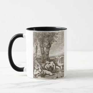 Cygnus Transformed into a Swan and Phaeton's Siste Mug