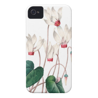 Cyklamens vintage illustration of Redoute iPhone 4 Case-Mate Case