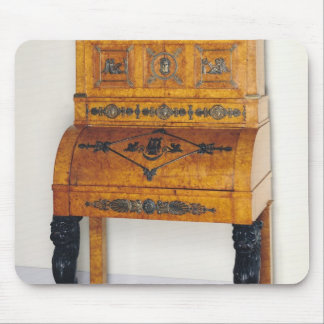 Cylinder front writing desk mouse pad