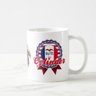 Cylinder, IA Coffee Mug