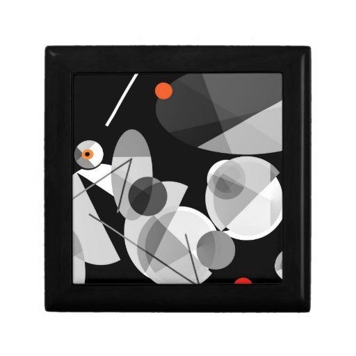 Cymbaline-2 Bold and Musical Abstract Jewelry Box