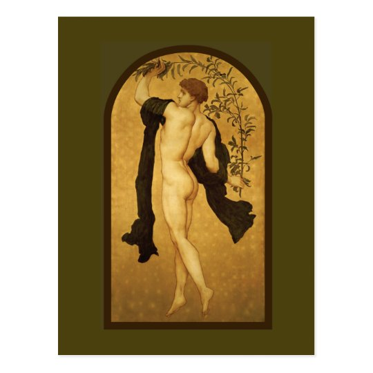 Cymbalists by Lord Frederic Leighton Postcard
