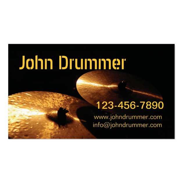 Drummer business card templates 28 images drummer cool black drummer business card templates by cymbals drummer www johndrummer cominfo reheart Gallery