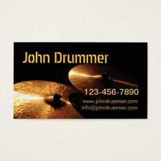 cymbals, John Drummer, www.johndrummer.cominfo@... Business Card