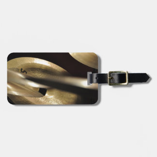 Cymbals Luggage Tag