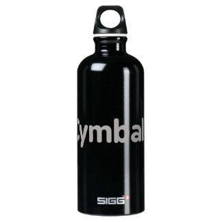 cymbals text grey SIGG traveller 0.6L water bottle