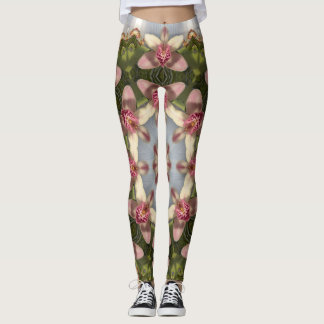 Cymbidiandala Perfection Mandala Leggings
