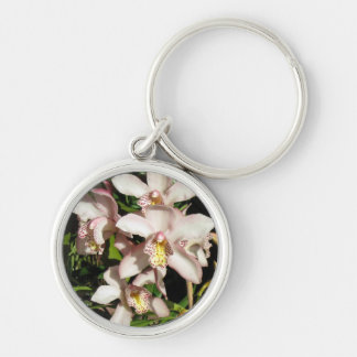 Cymbidium Orchids key chain