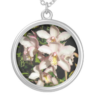 Cymbidium Orchids necklace