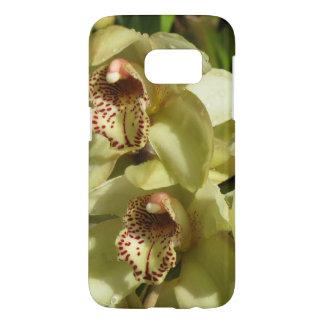 Cymbidium Orchids phone cases