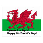 Cymru Am Byth - Happy St. David's Day Postcard