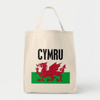 Cymru Grocery Tote Bag