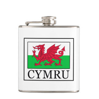 Cymru Hip Flask