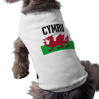 Cymru Sleeveless Dog Shirt