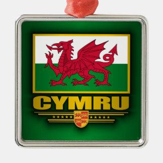 Cymru (Wales) Christmas Ornament