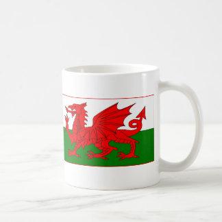 Cymru - Welsh Flag Basic White Mug