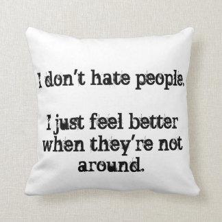 Cynical pillow