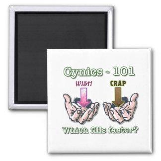Cynics - 101 square magnet