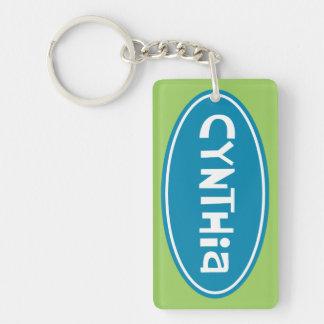 Cynthia Customized Key Ring