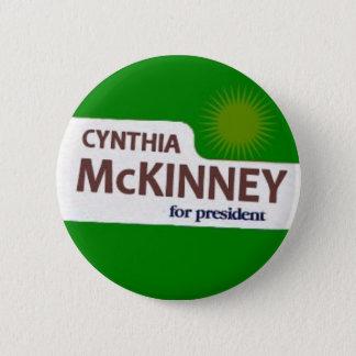 Cynthia McKinney Button