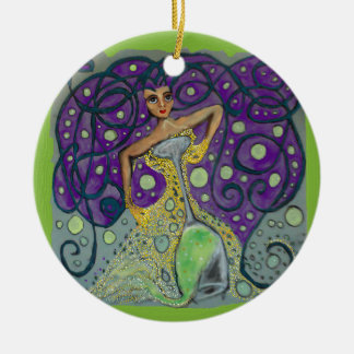 Cynthias Champagne Celebration Christmas Ornament