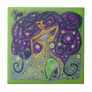 Cynthias Champagne Celebration Tile