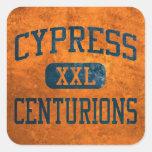 Cypress Centurions Athletics Square Sticker