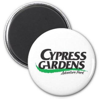 Cypress Gardens Adventure Park (2004-2008) 6 Cm Round Magnet