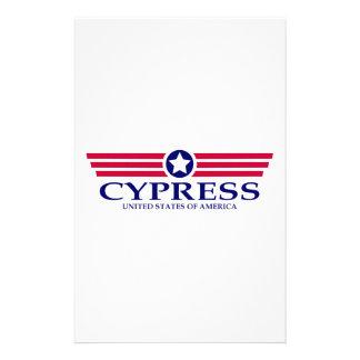 Cypress Pride Stationery Design