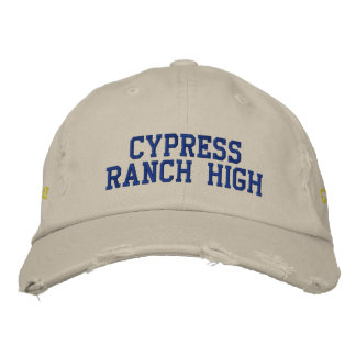 Cypress Ranch High *HAT* Class of 13 Embroidered Hats